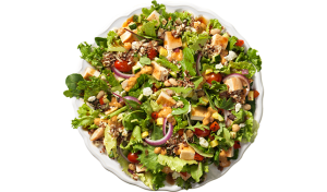 wendy's, healthy, salad, drive thru, fast food, mediterranean, health, cooking, restaurant, salad, lettuce