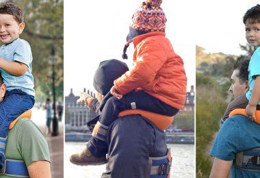 saddlebaby, baby gear, invention, saddle baby, piggyback rides