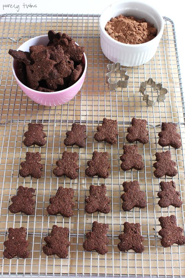 chocolate teddy grahams