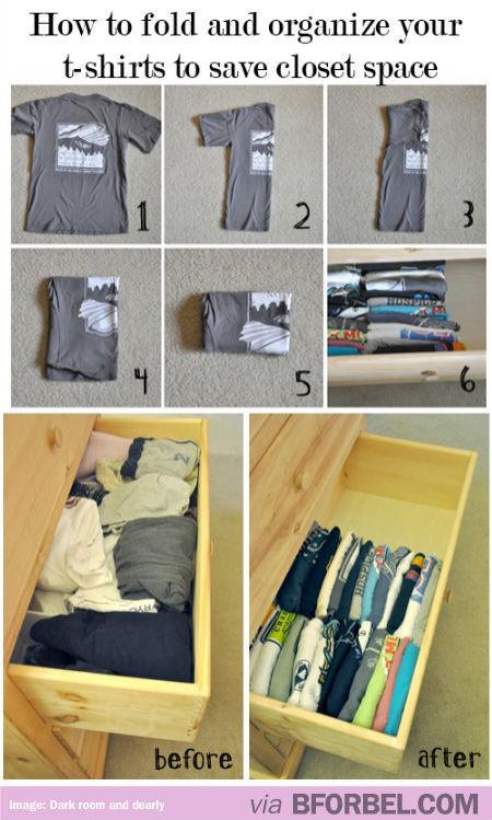 organization shirts