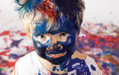 fingerpainting, child, art, messy, fun, parenting, creative
