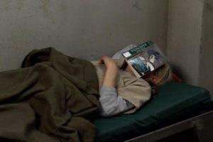 book reading, funny meme, mom meme, reading in prison