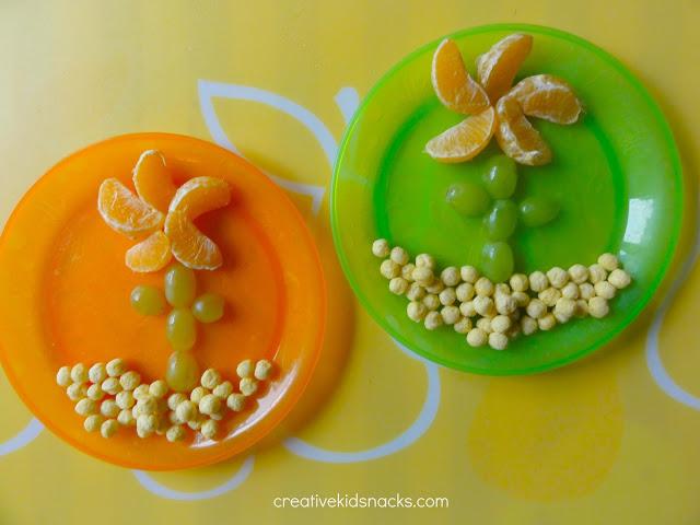 fruit flower snack
