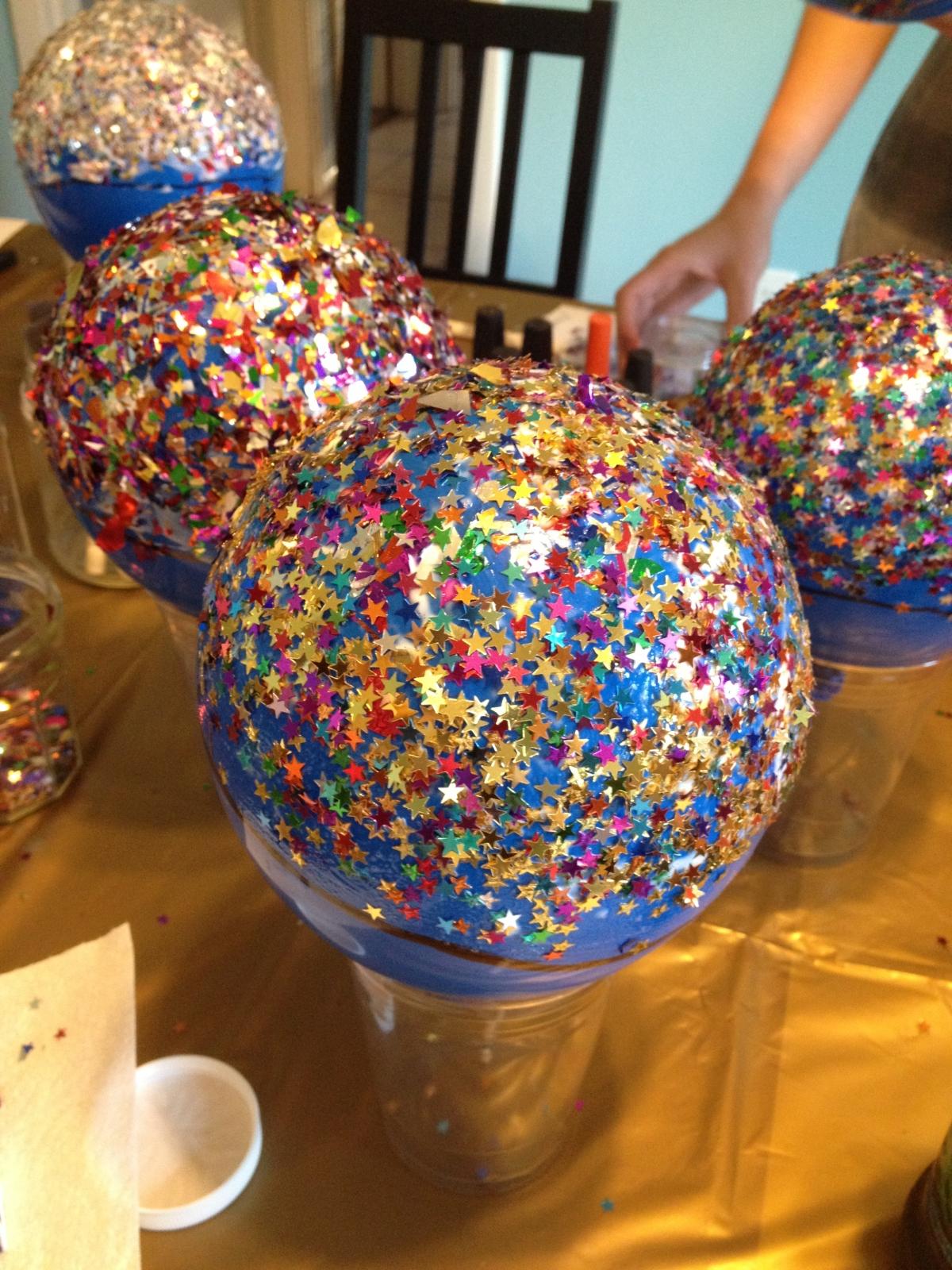 confetti balloon bowls