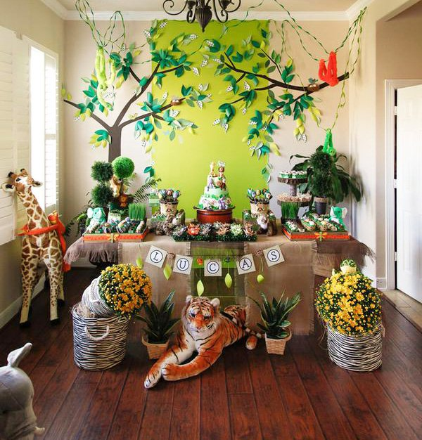 animal themed party