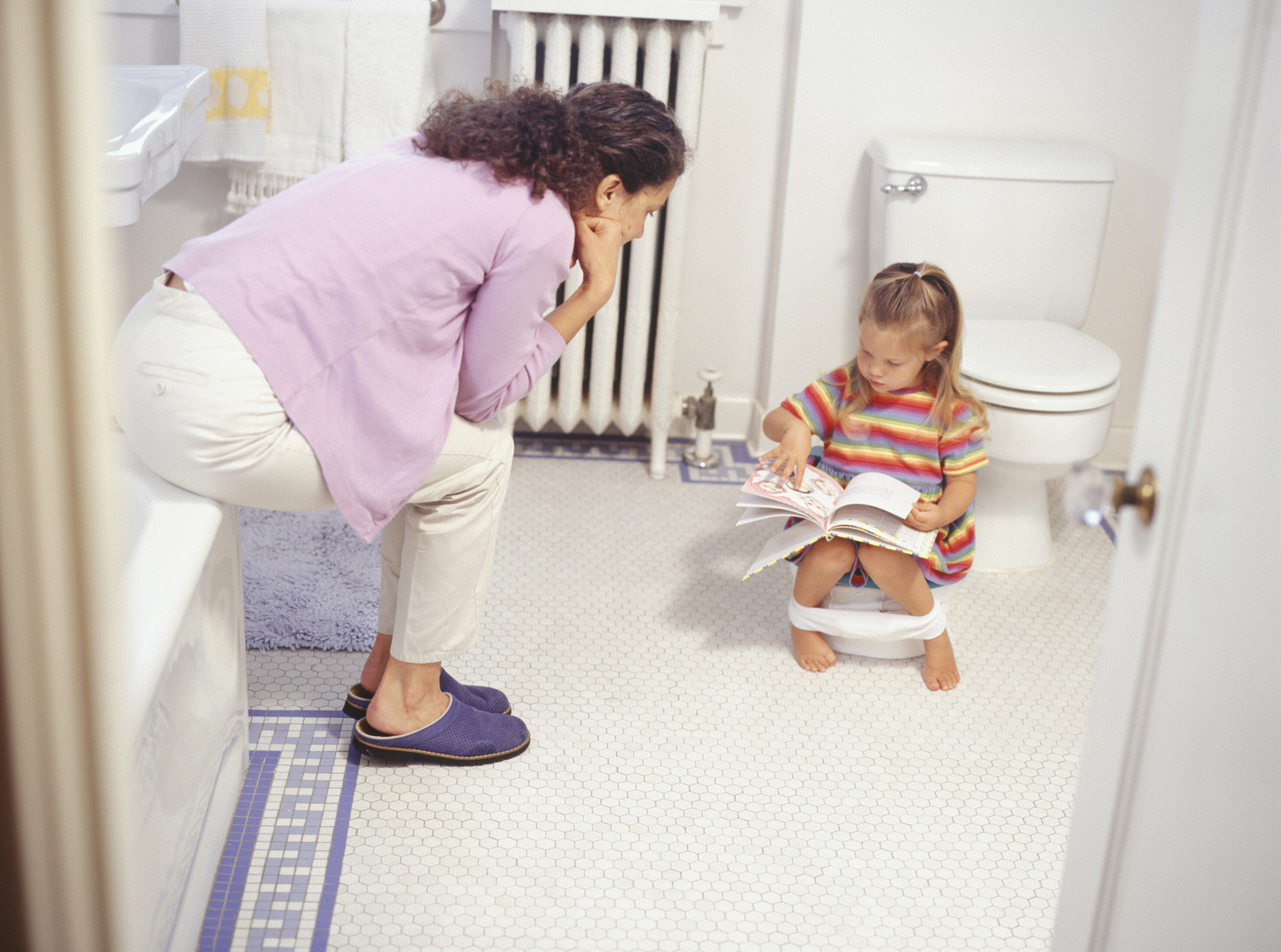 potty training kid