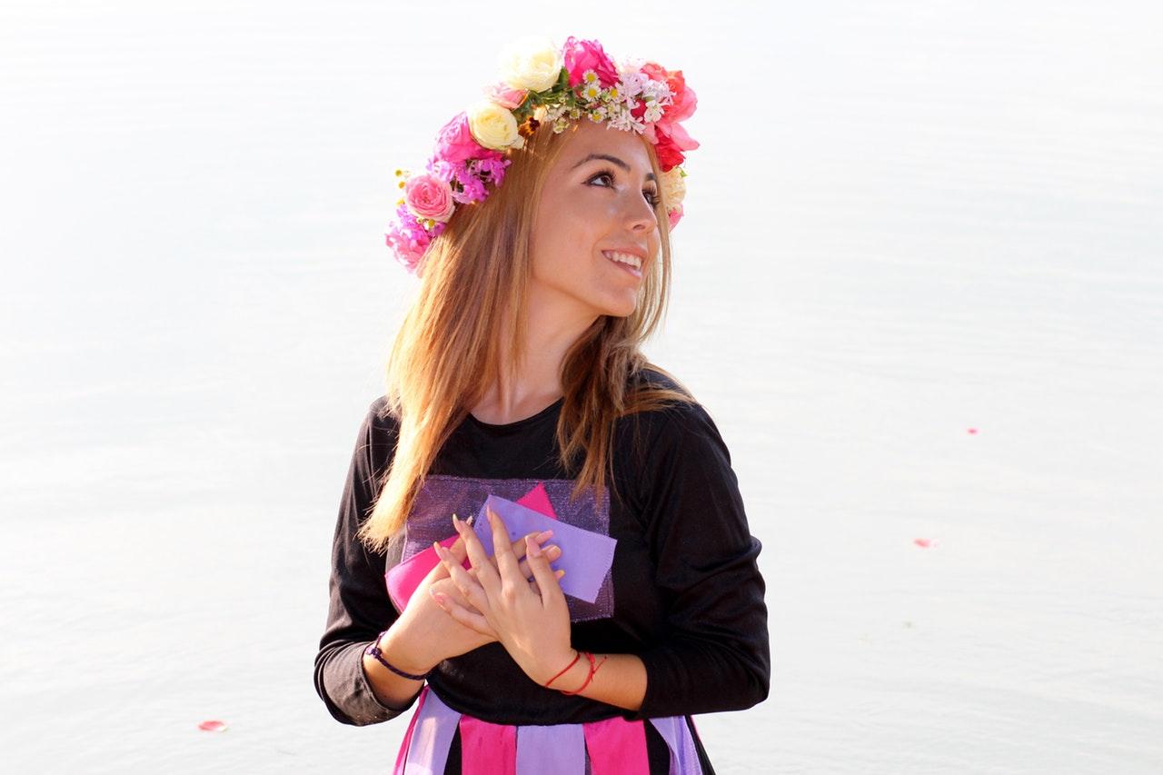 crafts flower crown