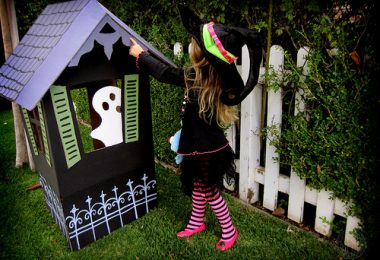 kids haunted house